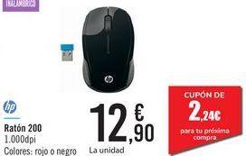 Oferta de Ratón 200 Hp por 12,9€