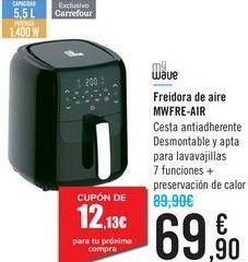 Oferta de Freidora de aire MCFRE-AIR MyWave por 69,9€