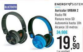 Oferta de Ausirular URBAN 2 ENERGY SISTEM por 19,9€