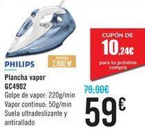 Oferta de Plancha vapor GC4902 PHILIPS por 59€