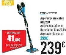 Oferta de Aspirador sin cable RH9290 Rowenta  por 239€