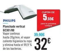 Oferta de Planchado vertical GC301/80 PHILIPS por 32€
