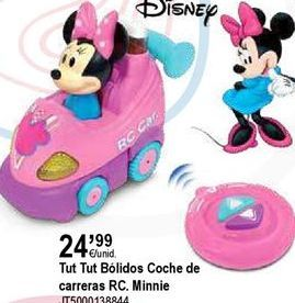 Oferta de Coche de juguete Minnie por 24,99€