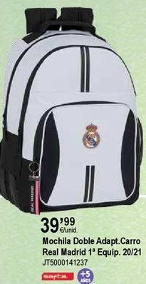 Oferta de Mochilas escolares Real Madrid por 39,99€