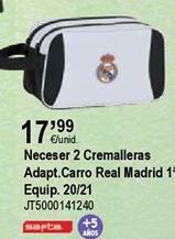 Oferta de Neceser Real Madrid por 17,99€