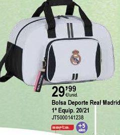 Oferta de Bolsa de deporte Real Madrid por 29,99€