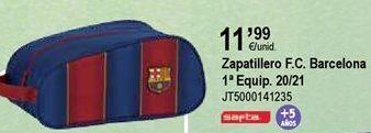 Oferta de Bolsa de deporte FCB por 11,99€