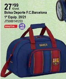 Oferta de Bolsa de deporte FCB por 27,99€