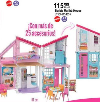 Oferta de Casa de juguete Barbie por 115,99€