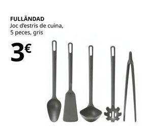 Oferta de Utensilios de cocina por 3€