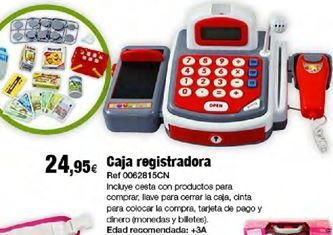 Oferta de Caja registradora por 24,95€