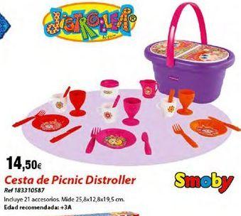 Oferta de Set picnic para niños por 14,5€