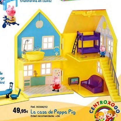 Oferta de Casa de juguete Peppa pig por 49,95€