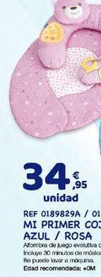 Oferta de Cojín de bebé por 34,95€