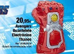 Oferta de Juguetes Marvel por 20,95€