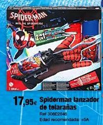 Oferta de Juguetes Spiderman por 17,95€