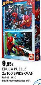 Oferta de Puzzles Spiderman por 9,95€