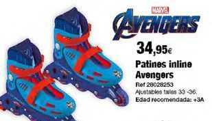 Oferta de Patines en línea Marvel por 34,95€
