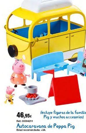 Oferta de Caravana de juguete Peppa pig por 46,95€
