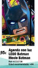 Oferta de Agenda escolar Batman por