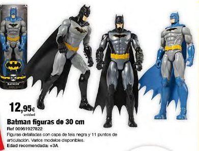 Oferta de Muñecos Batman por 12,95€