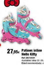 Oferta de Patines en línea Hello Kitty por 27,95€