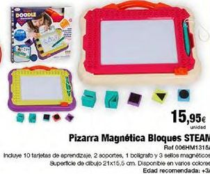 Oferta de Pizarra magnética por 15,95€