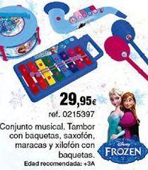 Oferta de Instrumentos musicales de juguete Frozen por 29,95€