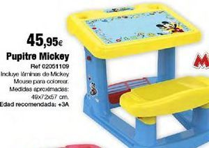 Oferta de Pupitre Mickey Mouse por 49,95€