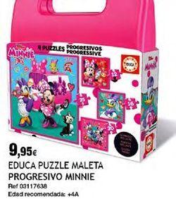 Oferta de Puzzles Minnie por 9,95€