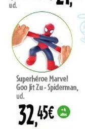 Oferta de Superheroe Marvel Goo Jit Zu- spiderman por 32,45€
