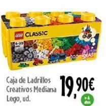 Oferta de Caja de ladrillos creativos mediana LEGO por 19,9€
