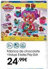 Oferta de Fábrica de chocolate Play-Doh por 24,99€