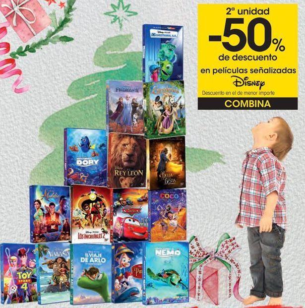 Oferta de En películas señalizadas Disney  por