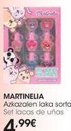 Oferta de Set lacas de uñas MARTINELA  por 4,99€