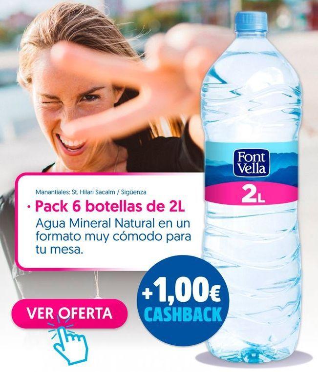Oferta de Agua Font Vella por