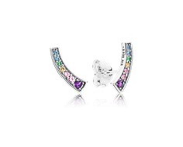 Oferta de Pendientes en plata de ley Arcos de Amor Multicolor por 49€