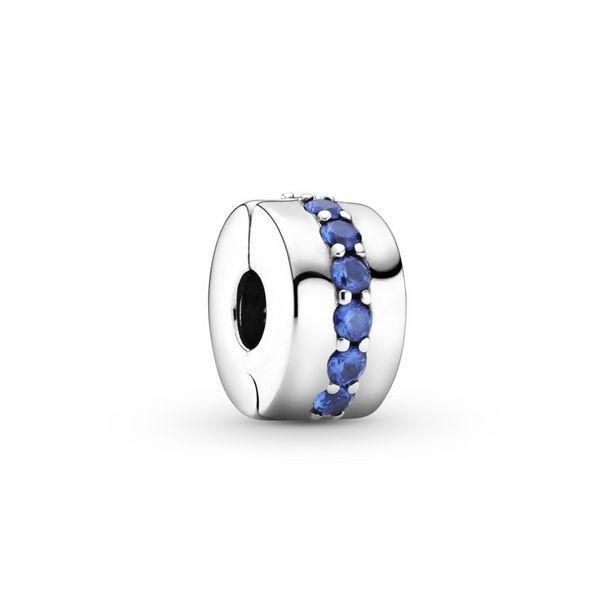 Oferta de Clip en plata de ley Destellos Azules por 39€