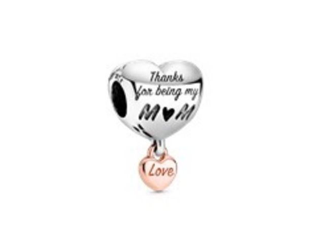 Oferta de Charm Corazón Te Quiero Mamá por 39€
