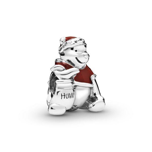 Oferta de Charm en plata de ley Winnie the Pooh en Navidad por 49€