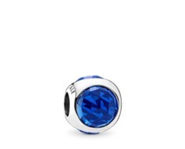 Oferta de Charm Gota Radiante Azul Royal por 59€