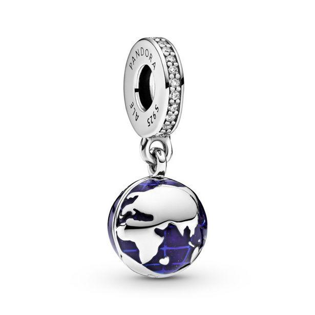 Oferta de Charm Colgante en plata de ley Nuestro Planeta Azul por 59€