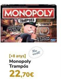 Oferta de Monopoly Tramposo  por 22,7€
