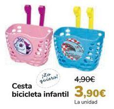 Oferta de Cesta bicicleta infantil  por 3,9€