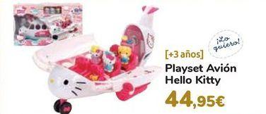 Oferta de Playset Avión Hello Kitty por 44,95€