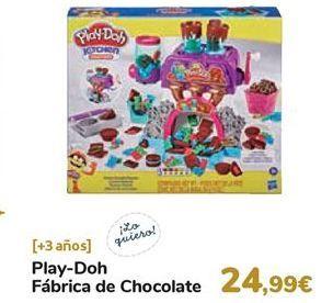 Oferta de Play-Doh Fábrica de chocolate  por 24,99€