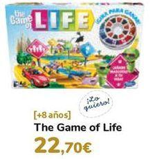 Oferta de The GFame of Life  por 22,7€