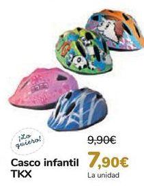 Oferta de Casco infantil TKX  por 7,9€