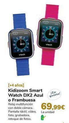 Oferta de Kidizoom Smart Watch DX2 Azul o Frambuesa por 69,99€