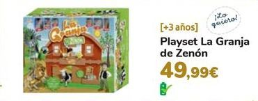 Oferta de Playset La Granja de Zenón por 49,99€